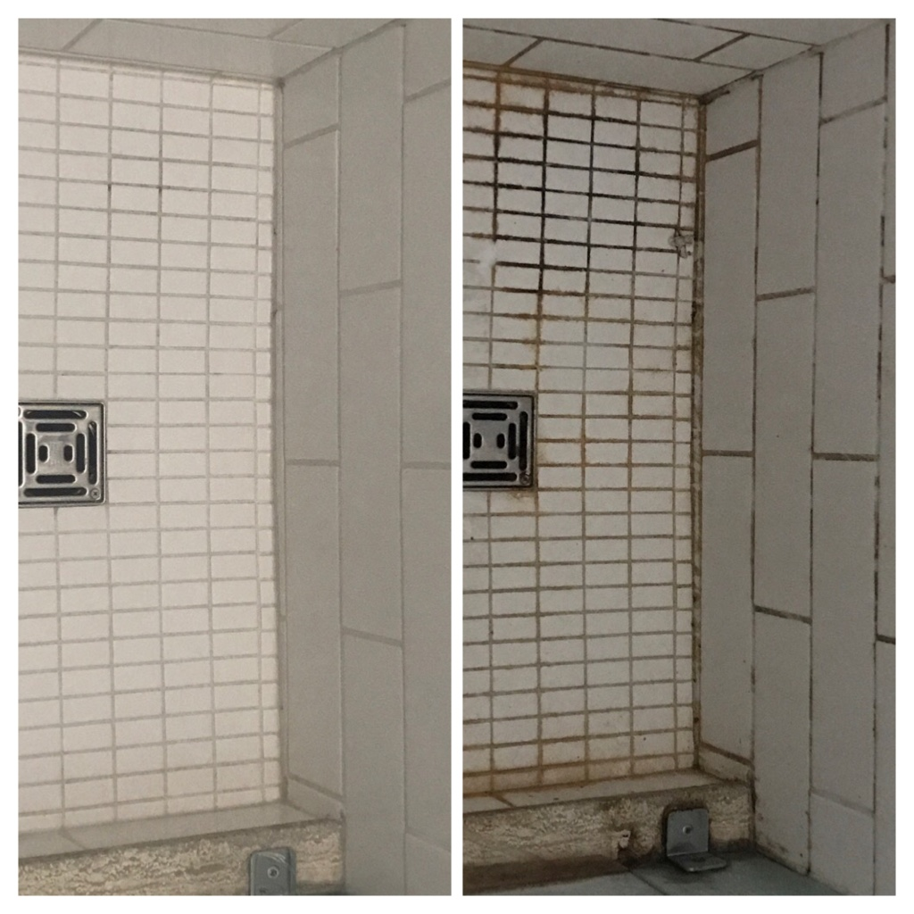 Shower restoration, regrouting and Cauking