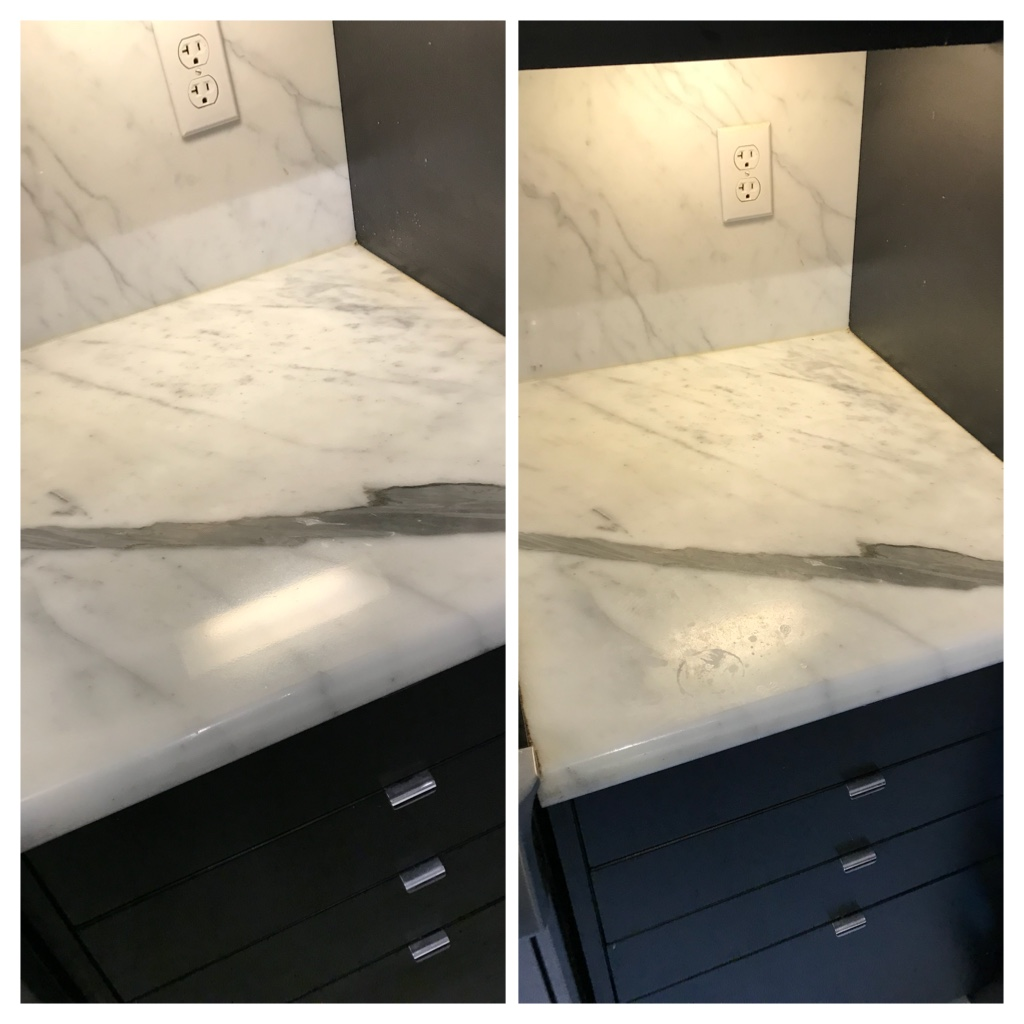 Marble countertop polishing Toronto