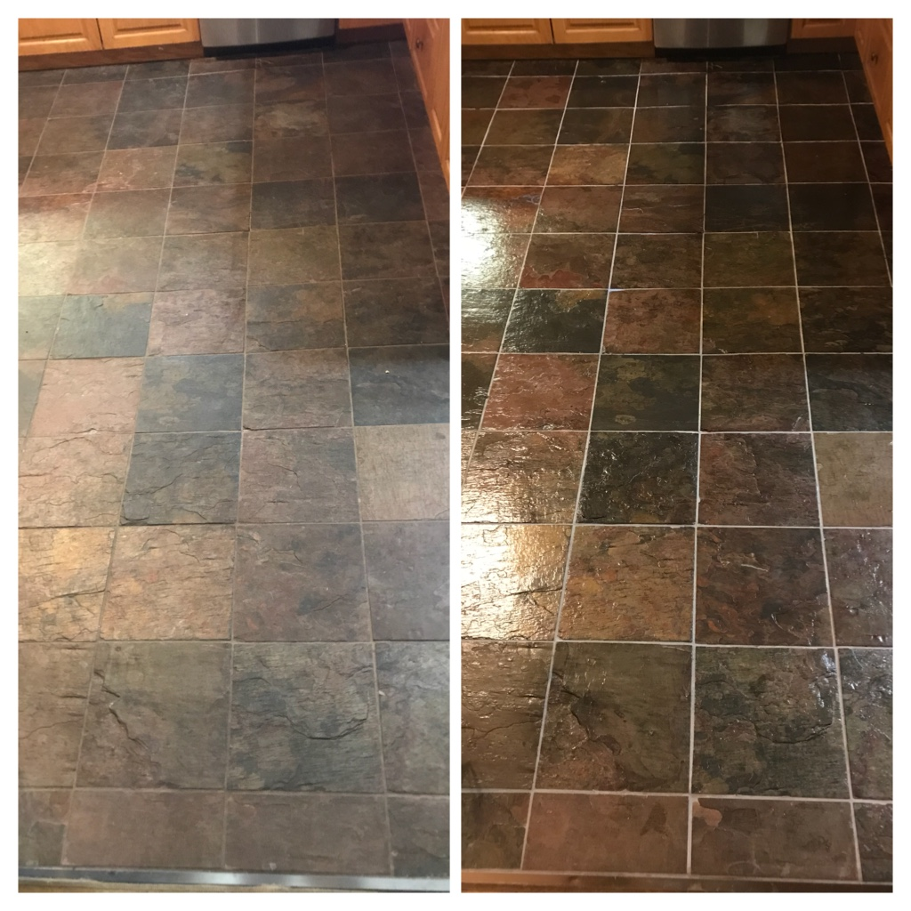 Slate cleaning and sealing Stoney creek