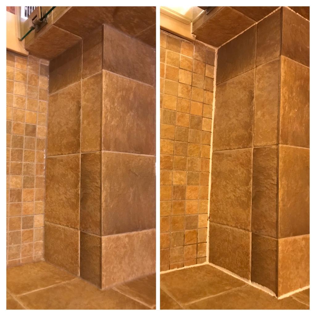 Shower mold cleaning, restoration & Recaulking Toronto