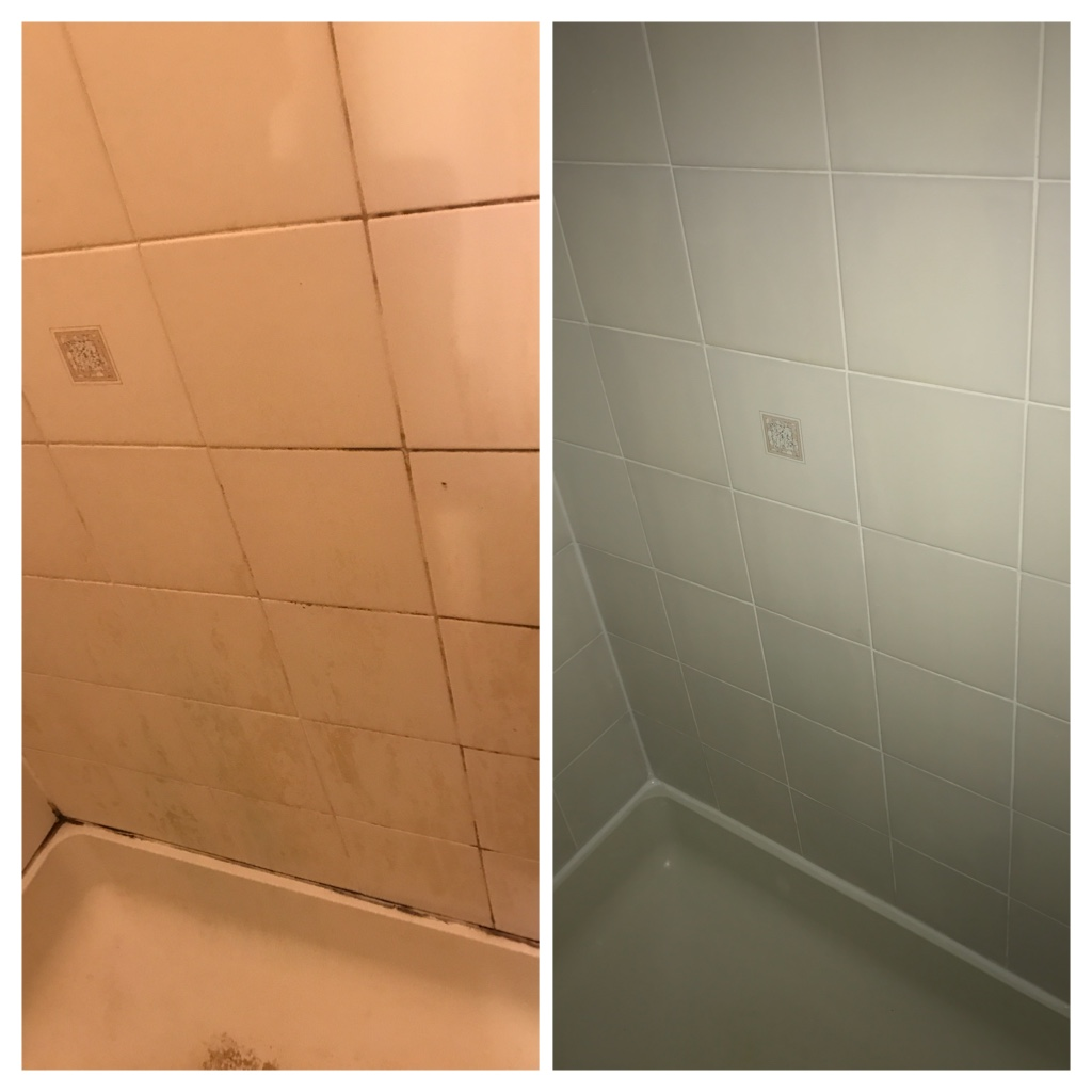 Tile and grout cleaning, recaulking and sealing Toronto