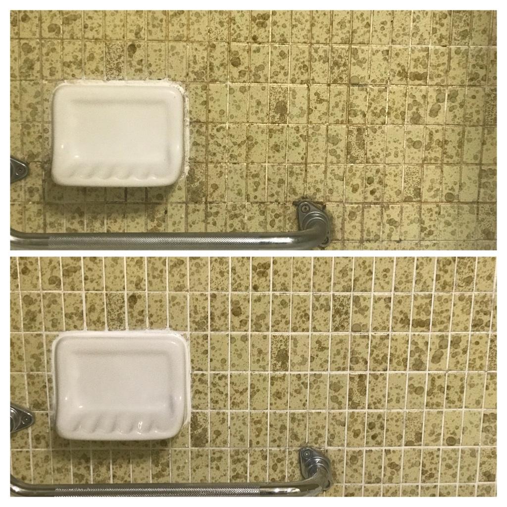 Shower grout cleaning & caulk Toronto