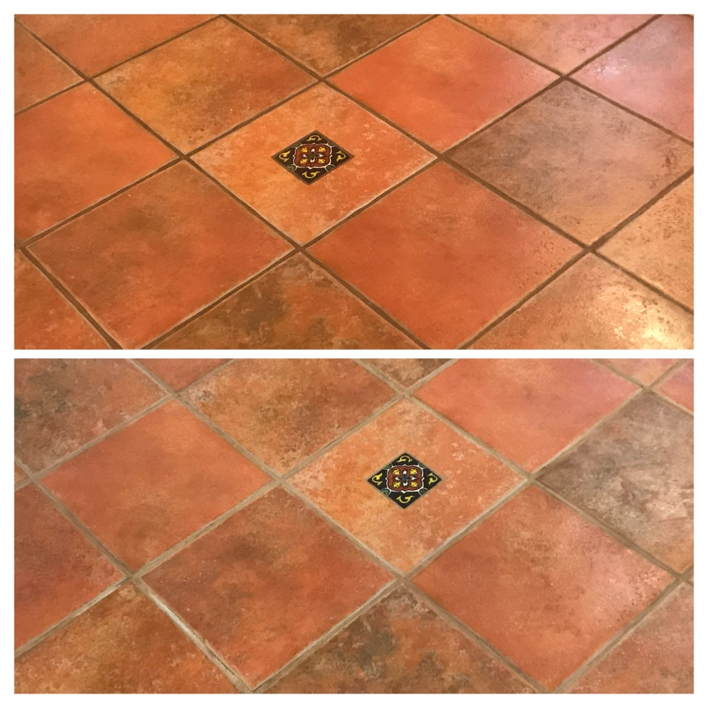Floor tile and grout restoration & sealing Toronto - TilesRus