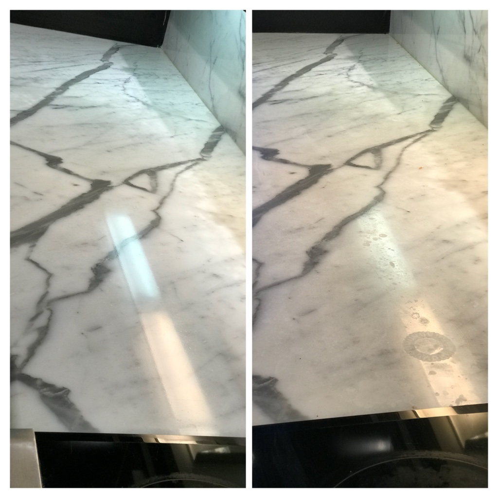 Marble restoration, polishing & sealing Toronto